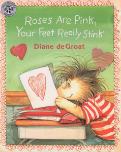 """Storytime at the Arts Barn: """"Roses are Pink, Your Feet Really Stink"""""""