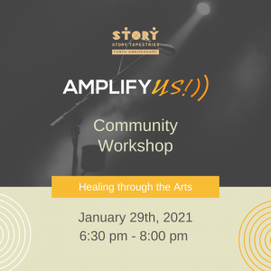 Amplify US: Transition in Power/Healing through the Arts