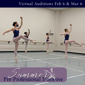 Maryland Youth Ballet Virtual Auditions