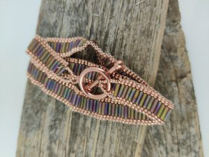 Peyote Stitch Wrap Bracelet (virtual workshop)