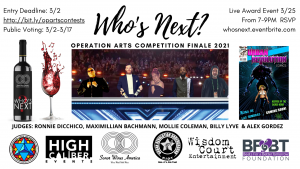 Who's Next? - Operation ARTS Competition Finale 2021