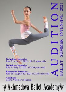 Audition for Summer Dance Intensive