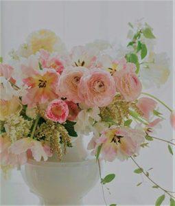 Spring Blossoms! Live Floral Centerpiece Design