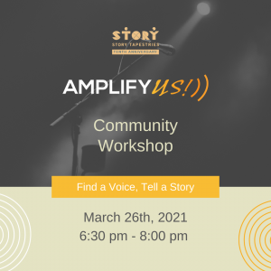 Amplify US: Find a Voice, Tell a Story