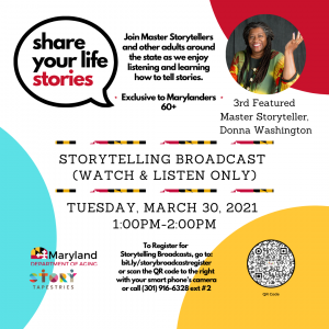 Share Your Life Stories: Story Broadcasts