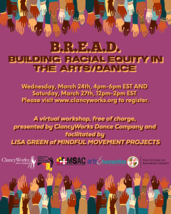 BREAD: Building Racial Equity in the Arts through Dance