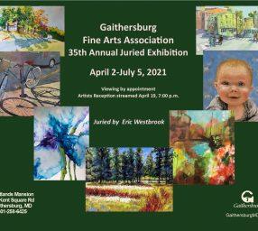 Gaithersburg Fine Arts Association 35th Annual Juried Exhibition - Virtual Art Reception