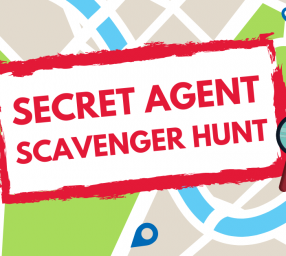 Secret Agent Scavenger Hunt