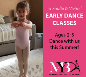 Summer Early Dance Classes with Maryland Youth Ballet