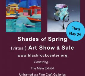 Shades of Spring (virtual) Art Show & Sale