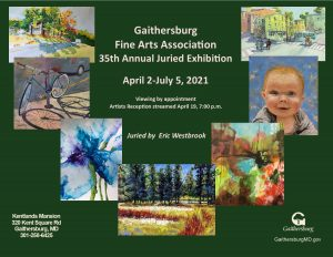 Gaithersburg Fine Arts Association 35th Annual Exhibition