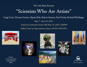 """Exhibit """"Scientists Who Are Artists"""""""
