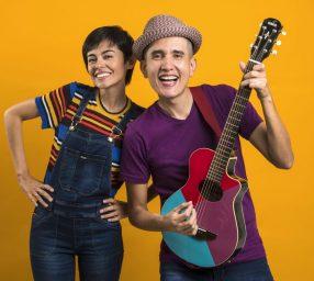 Carpe Diem! Family Fun Night IN: Grammy winners Christina & André Salguero: Uno-Dos-Tres Andrés!