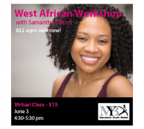Intro to West African Dance
