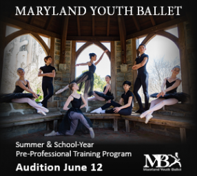 Maryland Youth Ballet AUDITION