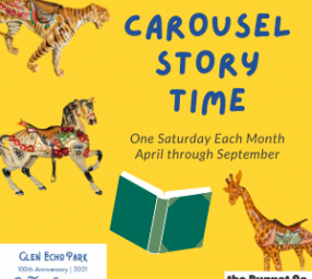 Carousel Story Time: A Ride to Remember by Sharon Langley and Amy Nathan
