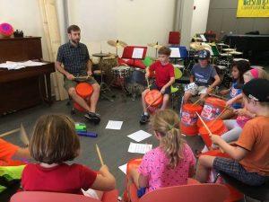 Bucket Band Rhythm Class
