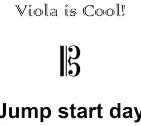 Viola is Cool! Jump-start Day
