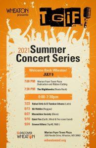 TGIF 2021 Summer Concert