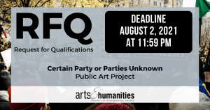 Certain Party or Parties Unknown - RFQ