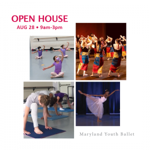 Maryland Youth Ballet Open House