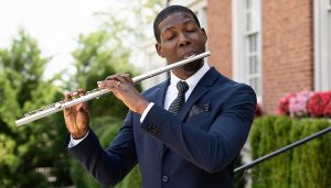 Ceylon Mitchell, contemporary classical flutist