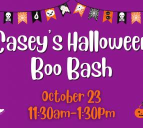 Halloween Boo Bash at Casey