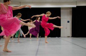 Isadora Duncan Dance Technique Class with Word Dan...