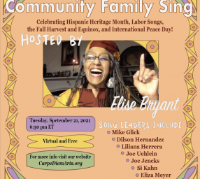 Carpe Diem! Community Sing & Songfest