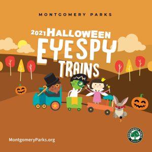 Eye Spy Halloween Trains