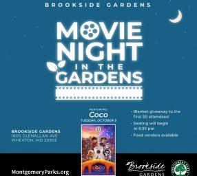 Movie Night in the Gardens