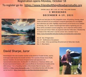 27th Annual Juried Members Show, A Call to Artists