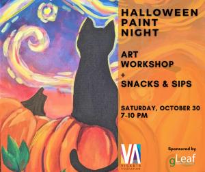 Halloween Paint Night with Michelle Izquierdo