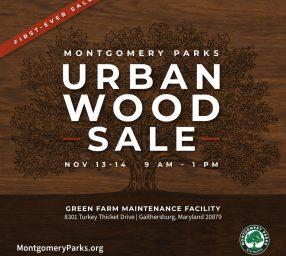 Montgomery Parks' Urban Wood Sale