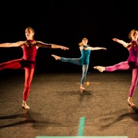 Pam Tanowitz & Ballet ADI, the story progresses as if on a dream of glittering surfaces